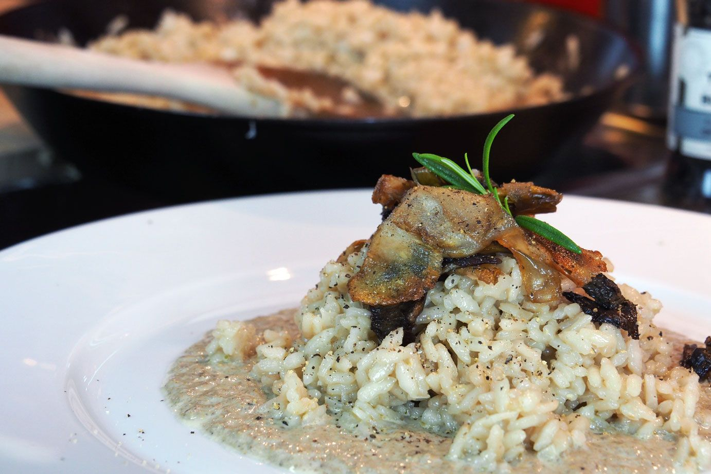 Chanterelle everything risotto