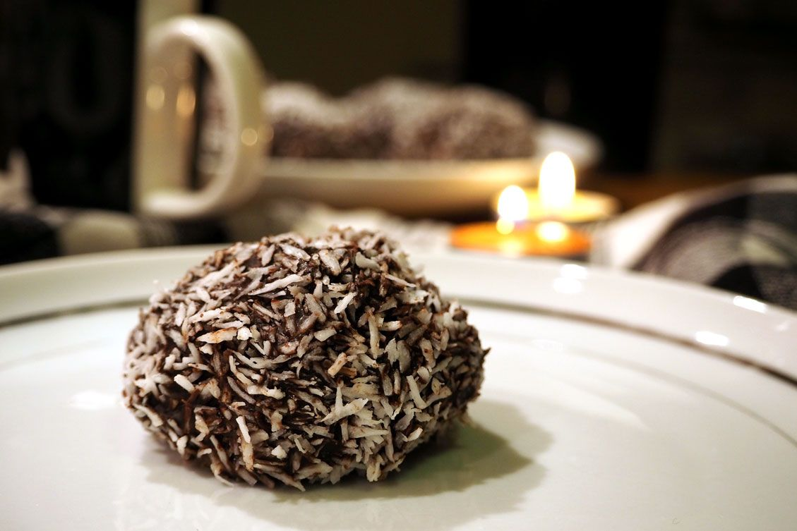 Chokladbollar is a sweet Swedish classic