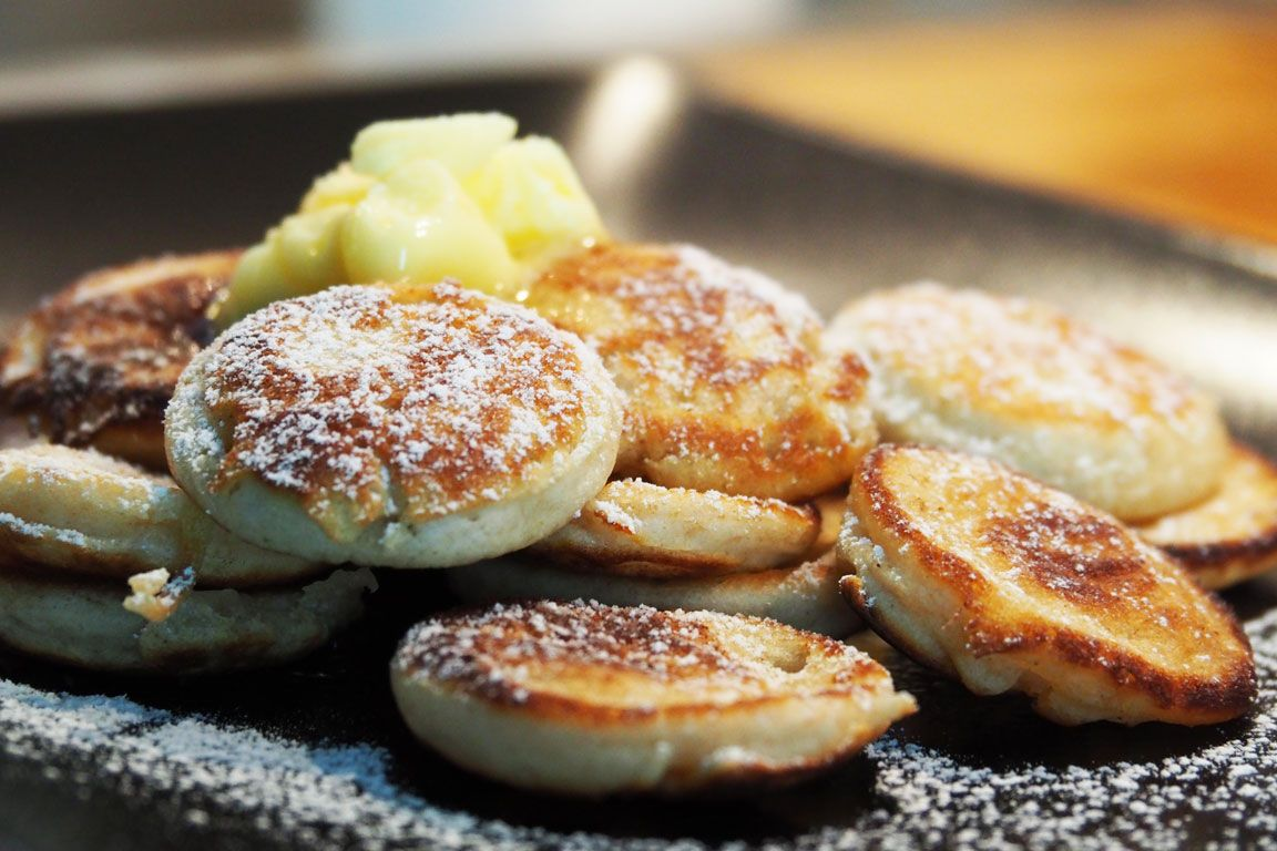 Real, original, authentic poffertjes